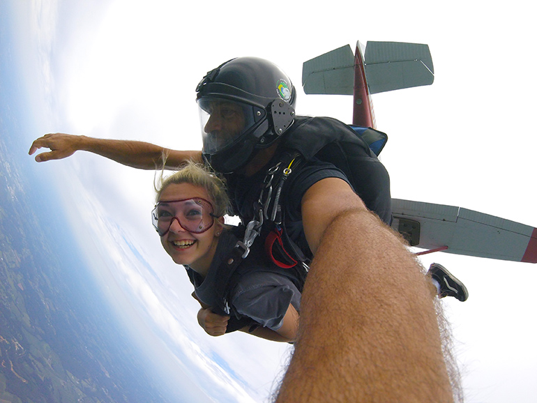 Bethesda Skydivers Facility Tandem Jumps